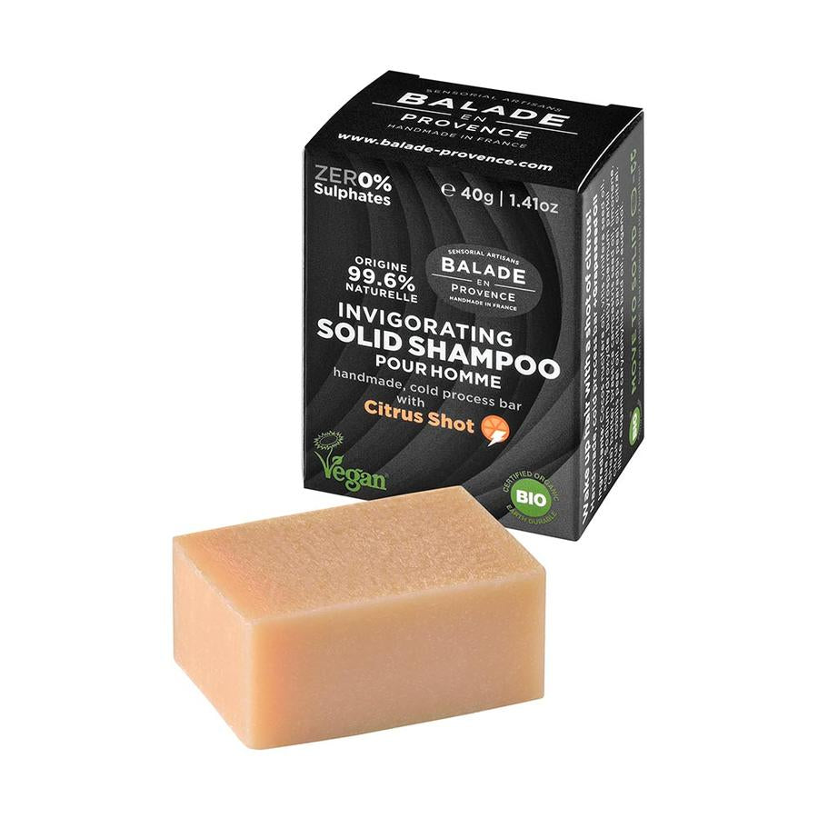 BALADE EN PROVECE INVIGORATING SOLID SHAMPOO - FOR MEN 40g
