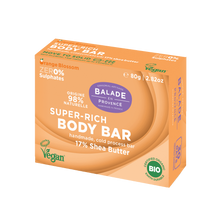 Load image into Gallery viewer, BALADE EN PROVENCE - SUPER-RICH BODY SOAP BAR - ORANGE BLOSSOM - 80g