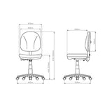Apollo Operator Chair - Business Base