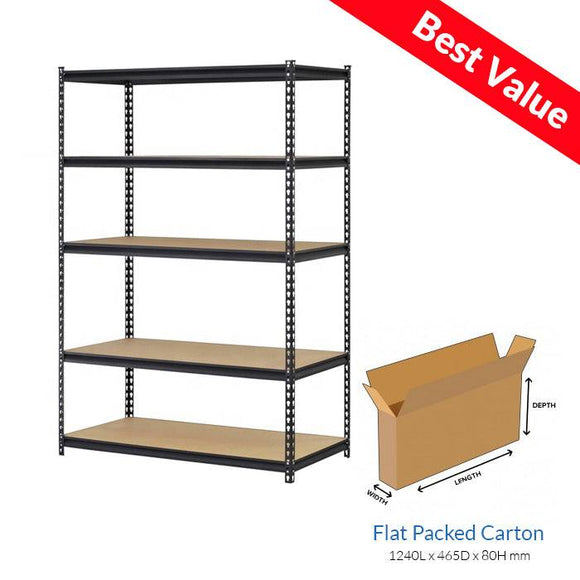 Boltless Rivet Shelving - Carton only