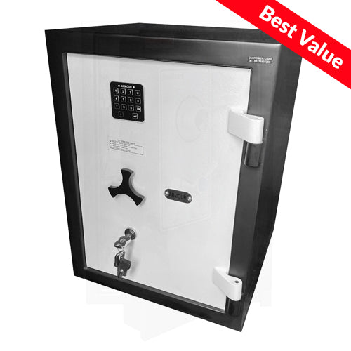 Commercial Lock Dual Safe Fire Rated