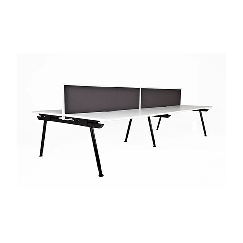 Edge Desk Two Person Pod 1800 x 1632 - Business Base