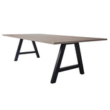 Pitch High Table Linewood Top - Business Base