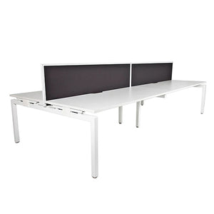 Linear Desk Four Person Pod 3000 x 1632 - Business Base