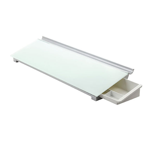 Quartet Glass Board Desktop 150x460 mm