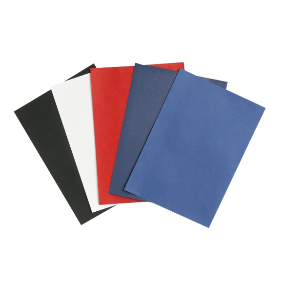 Rexel Binding Cover Leather Grain 300GSM - Business Base