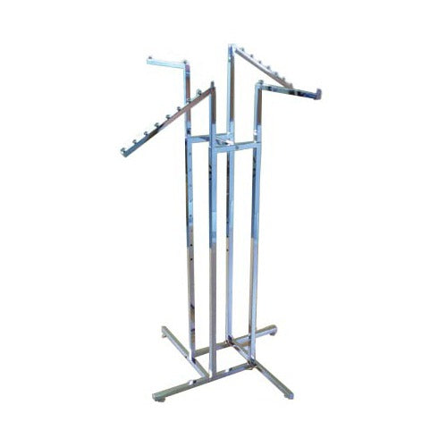 AP950-Four Way Racks Two Straight Arms and Two Sloping Arms - Business Base