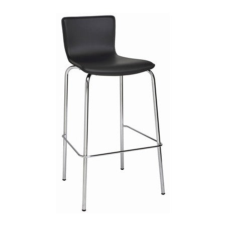 Avoca Leatherette Stool - Business Base