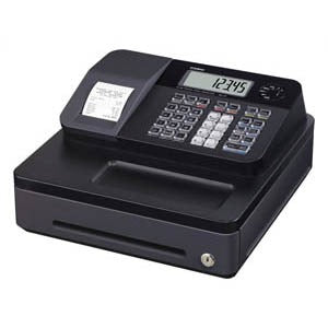 Casio SE-G1s Cash Register Black - Business Base