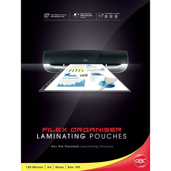 GBC Ibico Laminator Pouches A4 125MIC 100PK - Business Base