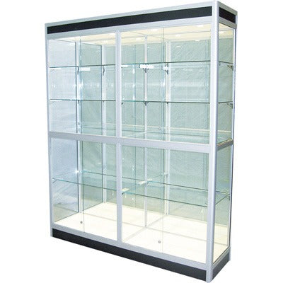 Lancaster 1800L Glass Showcase - Business Base