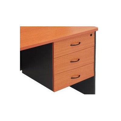 Matrix Fixed Pedestal 3 Pen Drawers - Business Base