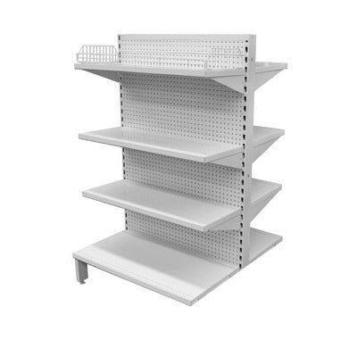 Supermarket Shelving Double Sided Joiner Bay - Business Base