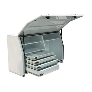 N Series Toolbox - Steel Minebox with Internal Drawers - Business Base