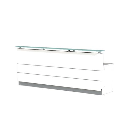 Polaris Reception Counter Straight - Business Base