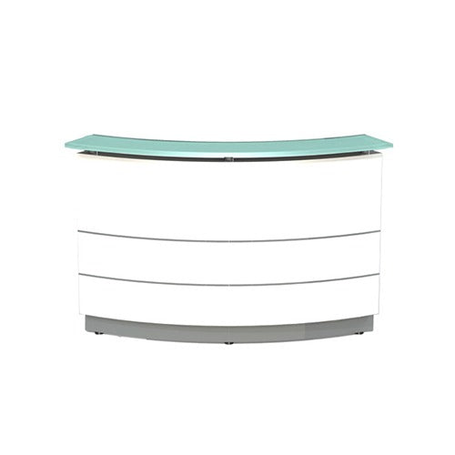 Polaris Reception Counter Curve - Business Base