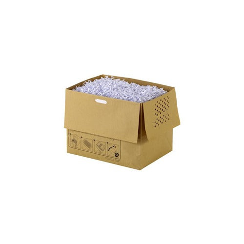 Rexel Auto+300 Recyclable Shredder Paper Bags Pk 20 - Business Base