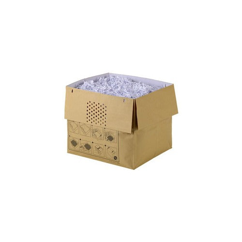 Rexel Auto+500 Recyclable Shredder Paper Bags Pk 50 - Business Base