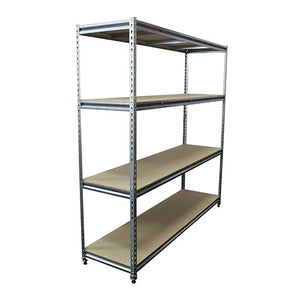 Rivet Racking Bay - 4 Shelves 1829H - Business Base