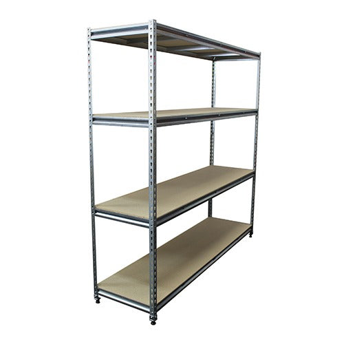 Rivet Racking Bay - 4 Shelves 2134H - Business Base