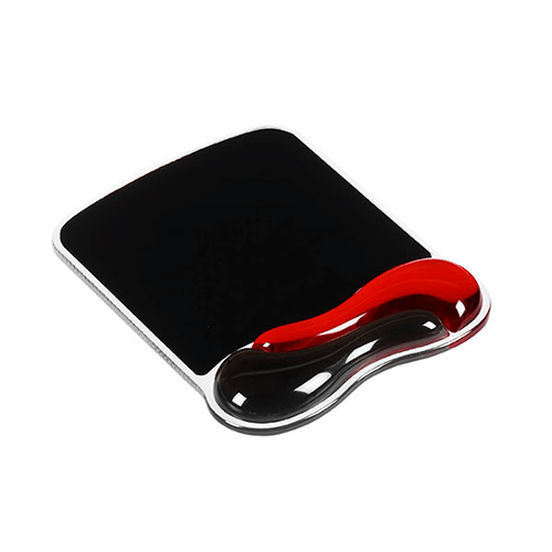 Kensington Gel Mouse Pad - Red / Black - Business Base