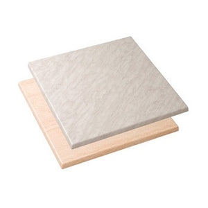 Werzalit Square Table Top - Stone Finish - Business Base