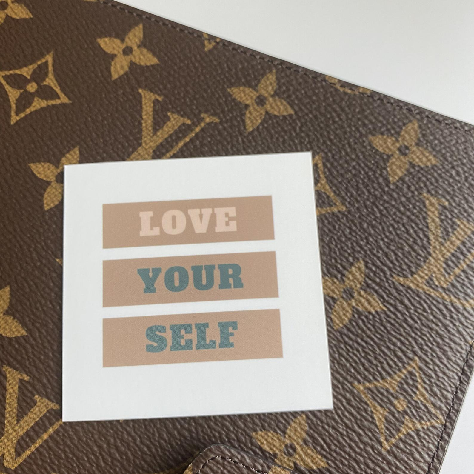 Love Your Self Planner Card