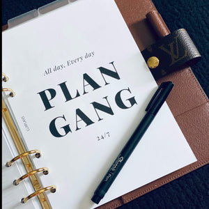 Plan Gang Dashboard
