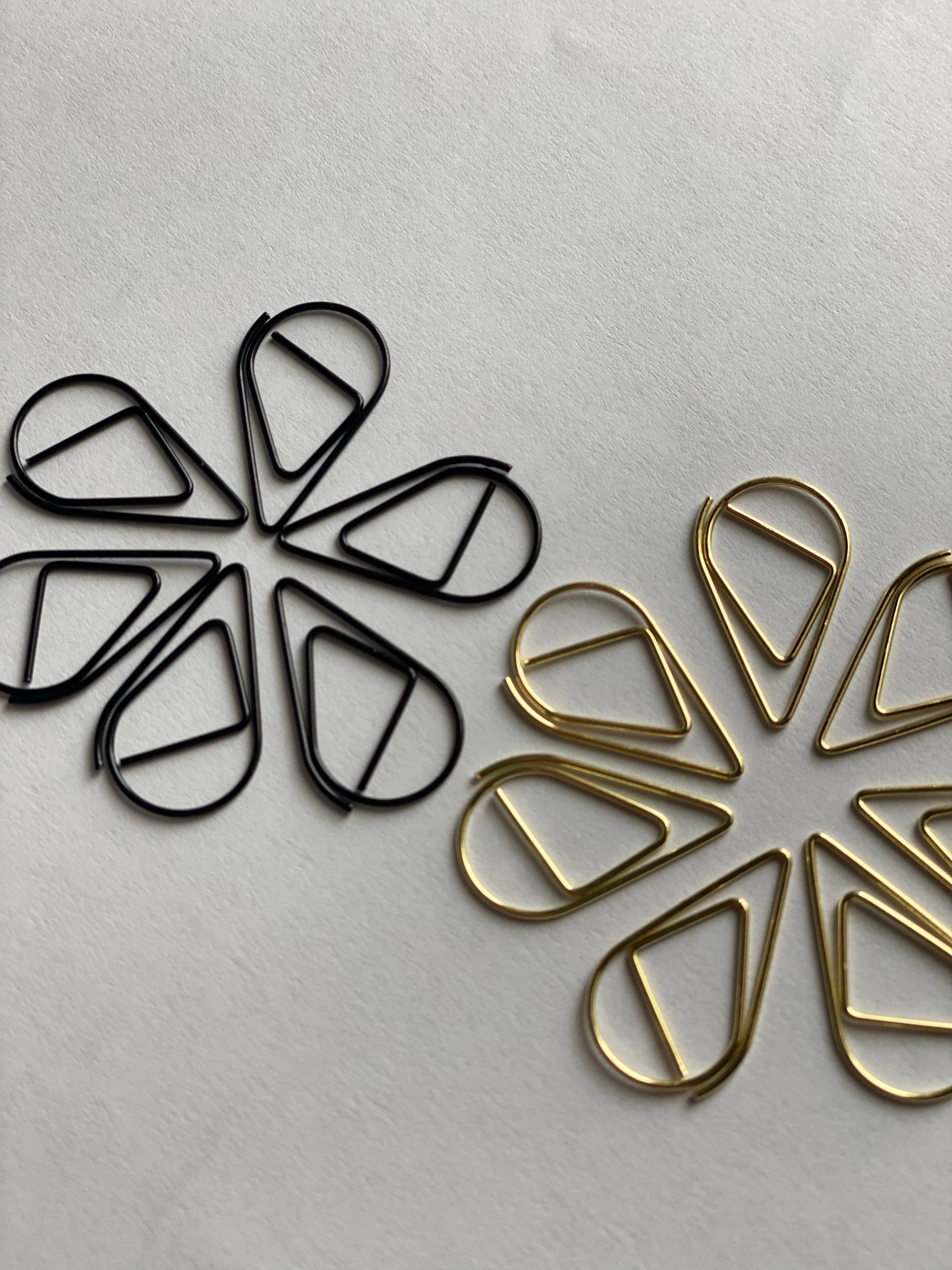 Tear Drop Paper Clips