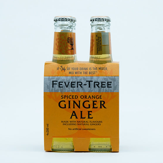 Fever-Tree  Spiced orange ginger ale 4x200ML