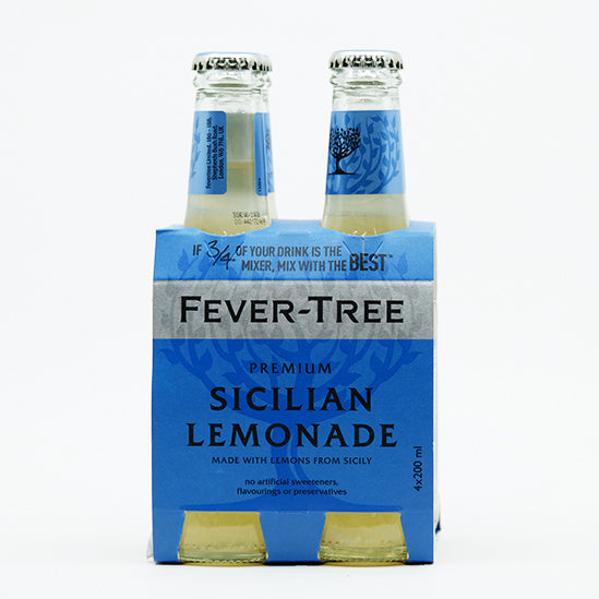 Fever-Tree  Sicilian lemonade 4x200ML