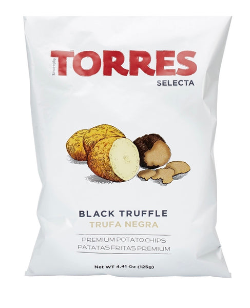 Black Truffle Potato Chips by Torres Selecta Large