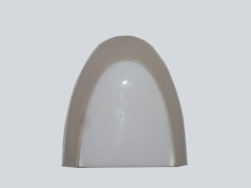 Sconce Face Plate Warm Gray
