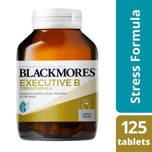 Blackmores Executive B Stress Tablets 125packs