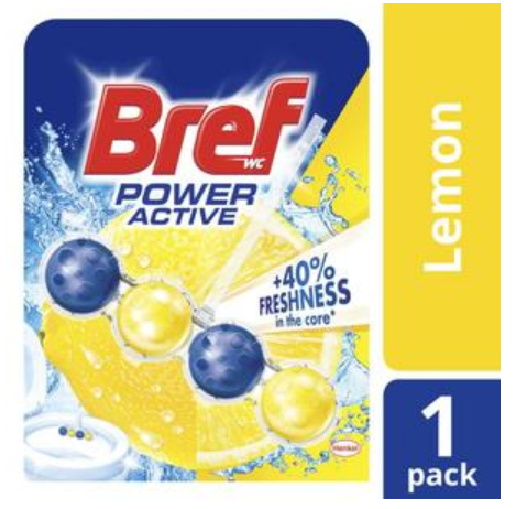 Bref Power Active Toilet Cleaner Lemon