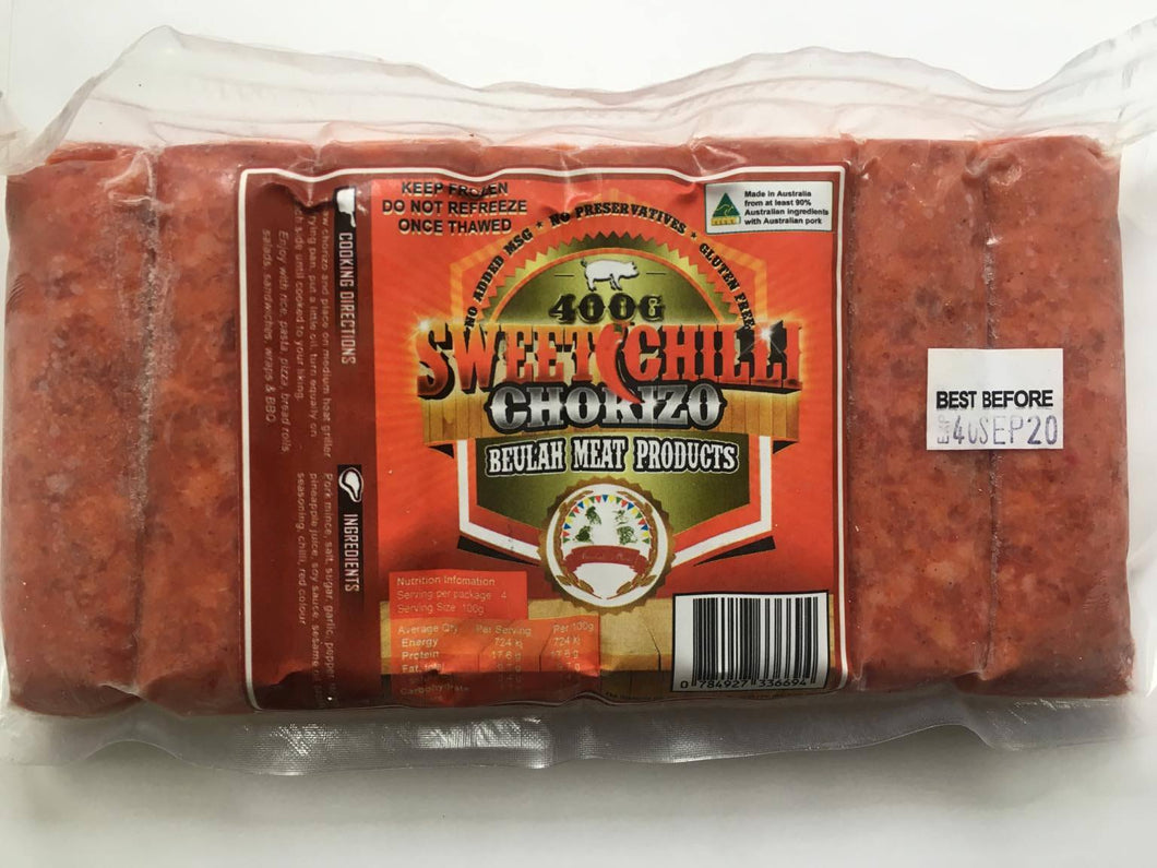 Beulah Sweet and Spicy Chorizo - 400g