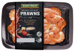John West Prawns With Cocktail Sauce 260g