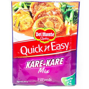 Del Monte Quick n Easy Kare Kare Mix 50g