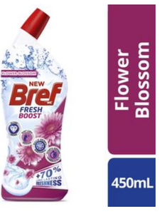 Bref Fresh Boost Flower Blossom Toilet Cleaner