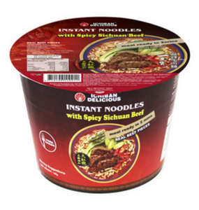 Ichiban Instant Noodles with Spicy Sichuan Beef 185g