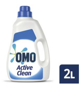 OMO Active Clean Top & Front Loader Laundry Liquid Detergent