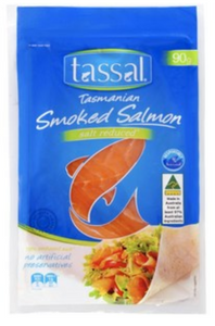 Tassal Tasmanian Salt Reduced Smoked Salmon 90g