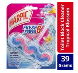 Harpic Fresh Power6 Toilet Cleaner Tropical Blossom 39g