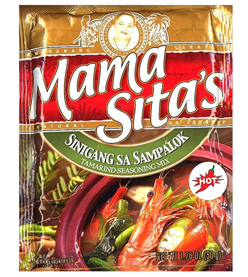 Mama Sita Sinigang sa Sampalok (Tamarind Seasoning Mix - HOT) 50g