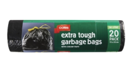 Extra Tough Garbage Bags