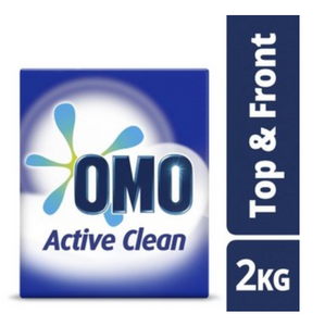OMO Active Clean Front & Top Loader Laundry Detergent Washing Powder