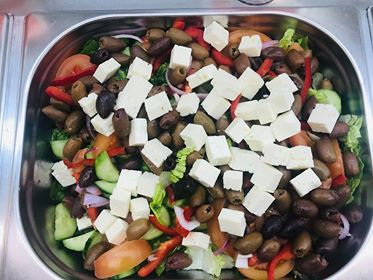 Greek Salad Party Tray