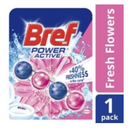 Bref Power Active Toilet Cleaner Fresh Flowers