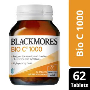 Blackmores Bio C 1000mg Tablets 62pack