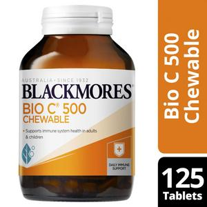 Blackmores Bio C 500mg Chewable Tablets
